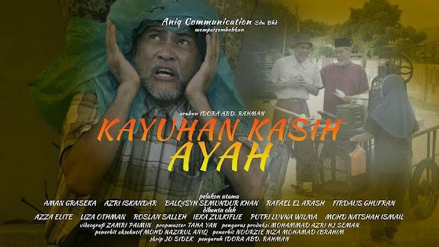Telemovie Kayuhan Kasih Ayah Lakonan Aman Graseka, Balqis Samundur Khan