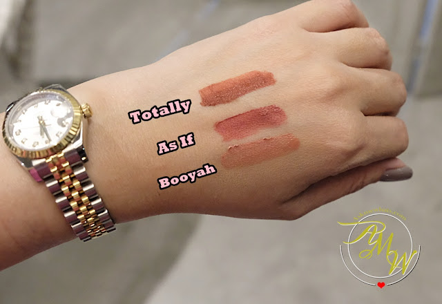 a swatch photo of BLK Soft Matte Mousse