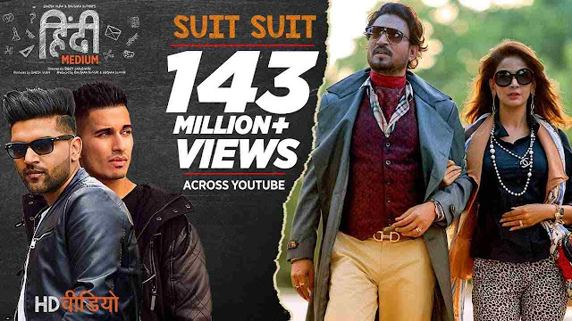 suit suit karda song Lyrics in Hindi & English