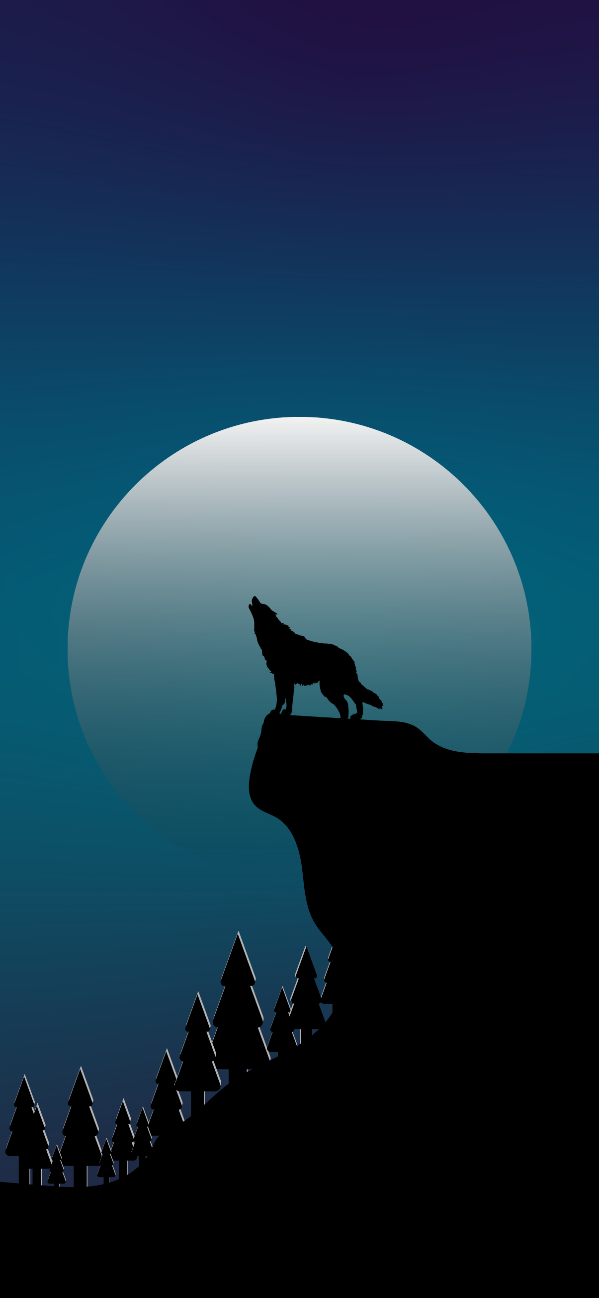 iphone-wallpaper-hd-wolf-howling