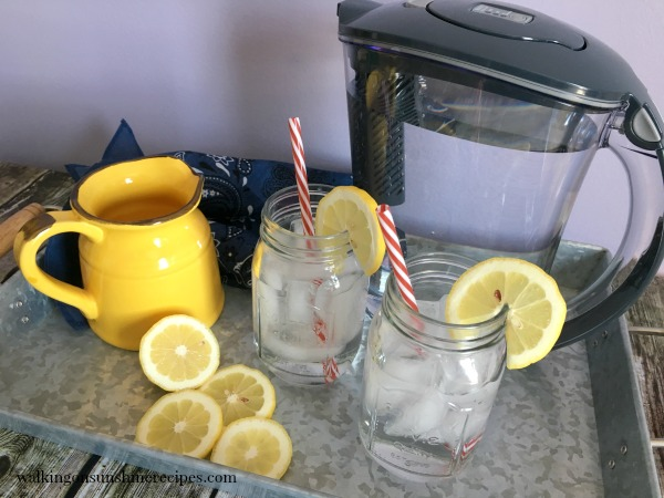 Brita Stream Filter-As-You-Go Pitcher from Walking on Sunshine