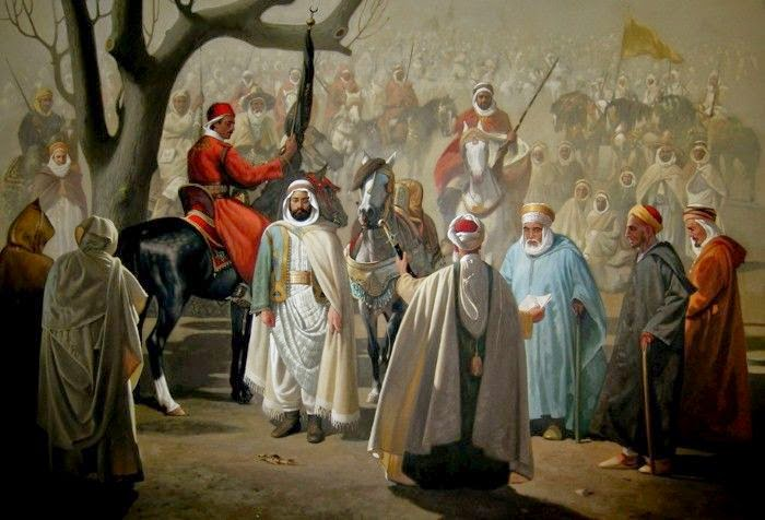 Алжирский художник. Hocine Ziani