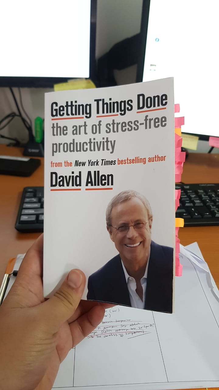 Buku Getting Things Done - David Allen