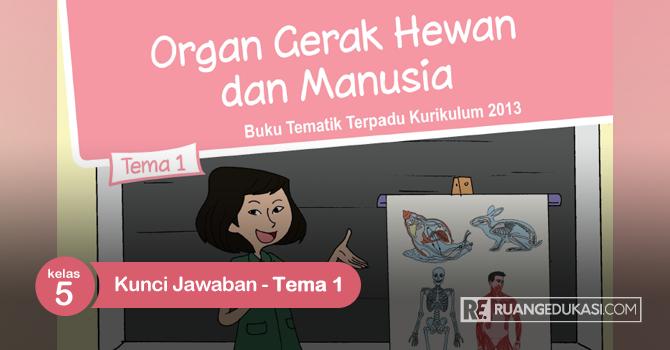 Kunci Jawaban Buku Siswa Tematik Kelas 5 Tema 1 Organ Gerak Hewan dan Manusia