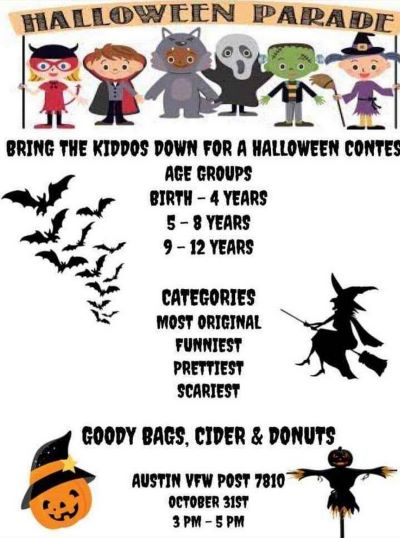 10-31 Halloween Contest/Parade, Austin VFW