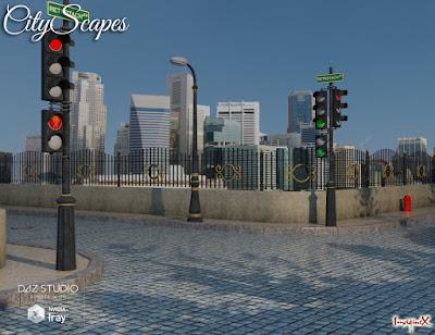 CityScapes Backdrops
