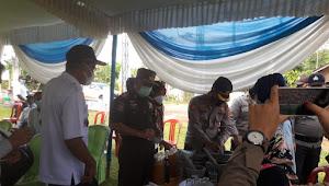 Lampung timur.Desa bumi ayu Launching Kampung Tangguh Nusantara (KTN)