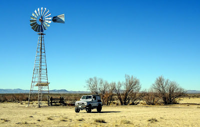 Wind Pumps, a Roadrunner and more dune driving...