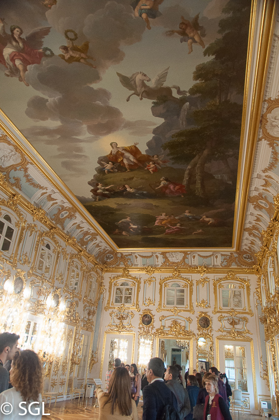 Salones del Palacio de Peterhof, excursion desde San Petersburgo