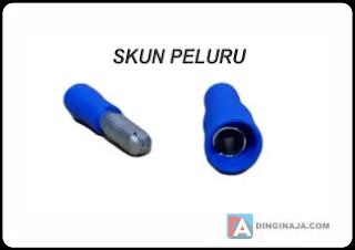 jenis skun kabel peluru