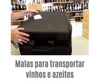 Malas para transportar vinhos e azeites