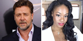 Hollywood actor Russell Crowe and Azealia Banks