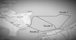 The Dunkirk evacuation routes