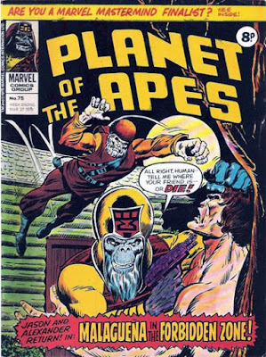 Marvel UK, Planet of the Apes #75