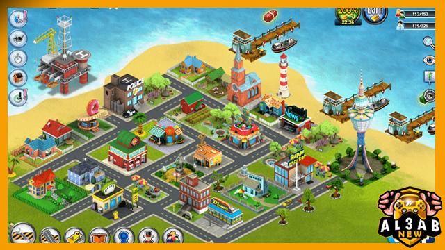 تحميل لعبة بناء مدينة CITY ISLAND 5 للاندرويد مهكرة اخر اصدار من الميديا فاير