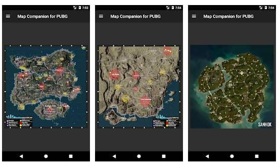 map companion for pubg mobile