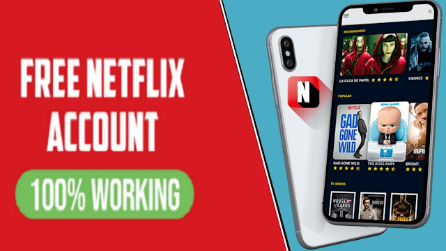 حسابات نيتفليكس Netflix مجانا اسم المستخدم وكلمة المرور 2019