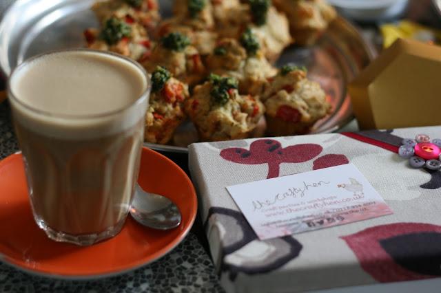 Brighton crafting Tea Cake and Make