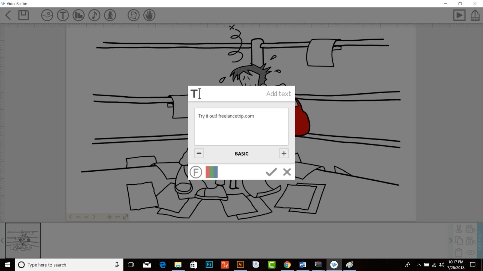 Whiteboard Animation Tools - Videoscribe - Freelance Trip
