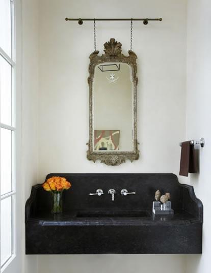 Side Of Bathroom Mirror Decor