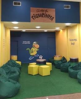 Center Shopping Rio abre espaço para troca de figurinhas do Campeonato Mundial