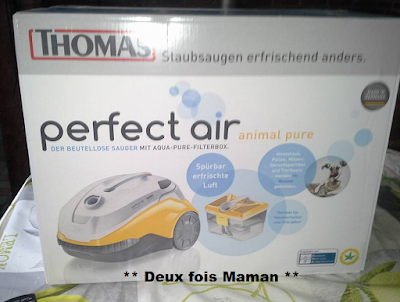 avis complet sur l'aspirateur perfect air animal pure thomas