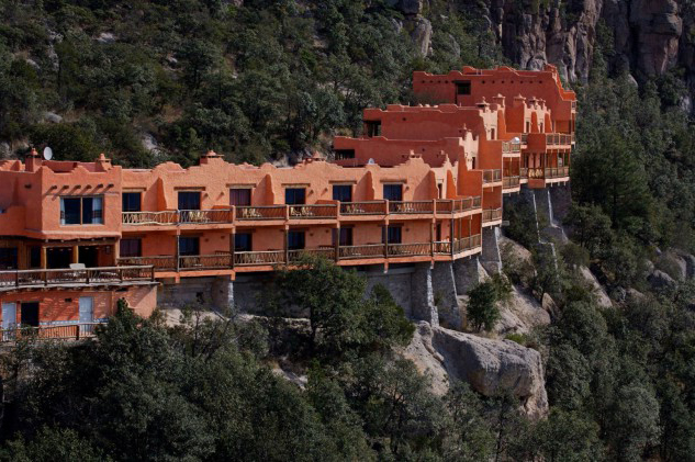 The best hotel in the world to see the stars is 'hung' from a ravine in Mexico