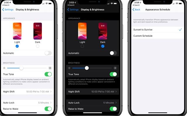 كيفية تمكين الوضع المظلم على iOS 13 و iPadOS