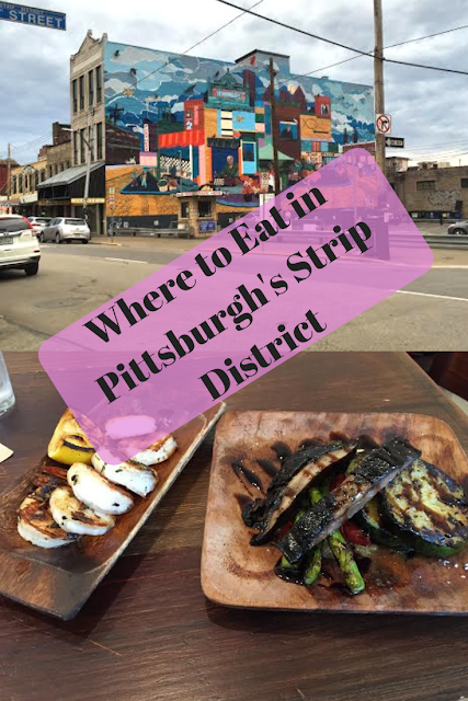 Where to eat in Pittsburgh's Strip District including family friendly finds.