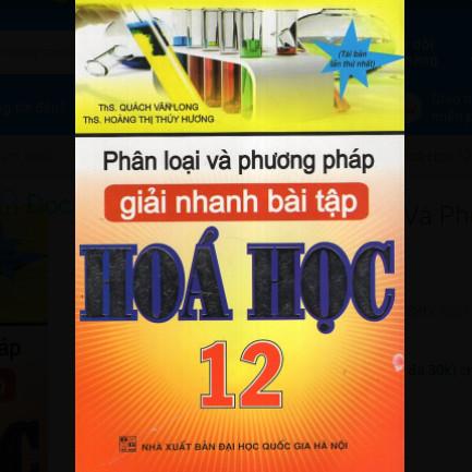 Phân Loại Và Phương Pháp Giải Nhanh Bài Tập Hoá Học 12 ebook PDF-EPUB-AWZ3-PRC-MOBI