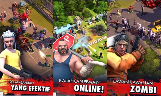 Zombie Anarchy War & Survival v1.2.1e APK New Update!