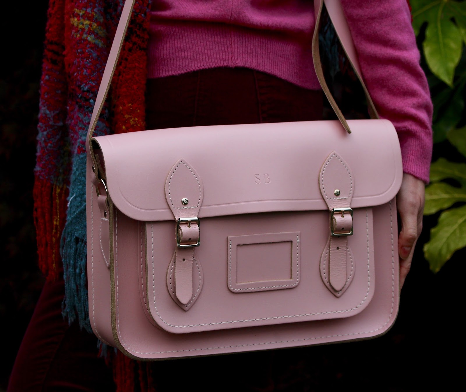 Pink satchel from Cambridge satchel company | Fake fabulous.
