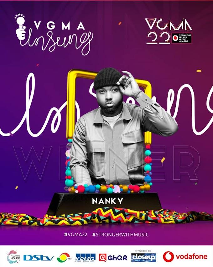 Nanky Wins Vgma22 Unsung Initiative