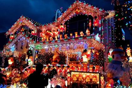 Dekorere plenen til jul uten å gå over bord