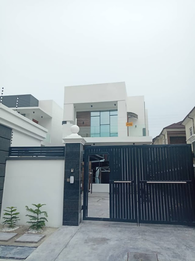 Now Selling: 2 units of well Finished Brand new Luxury 5 Bedroom Detached