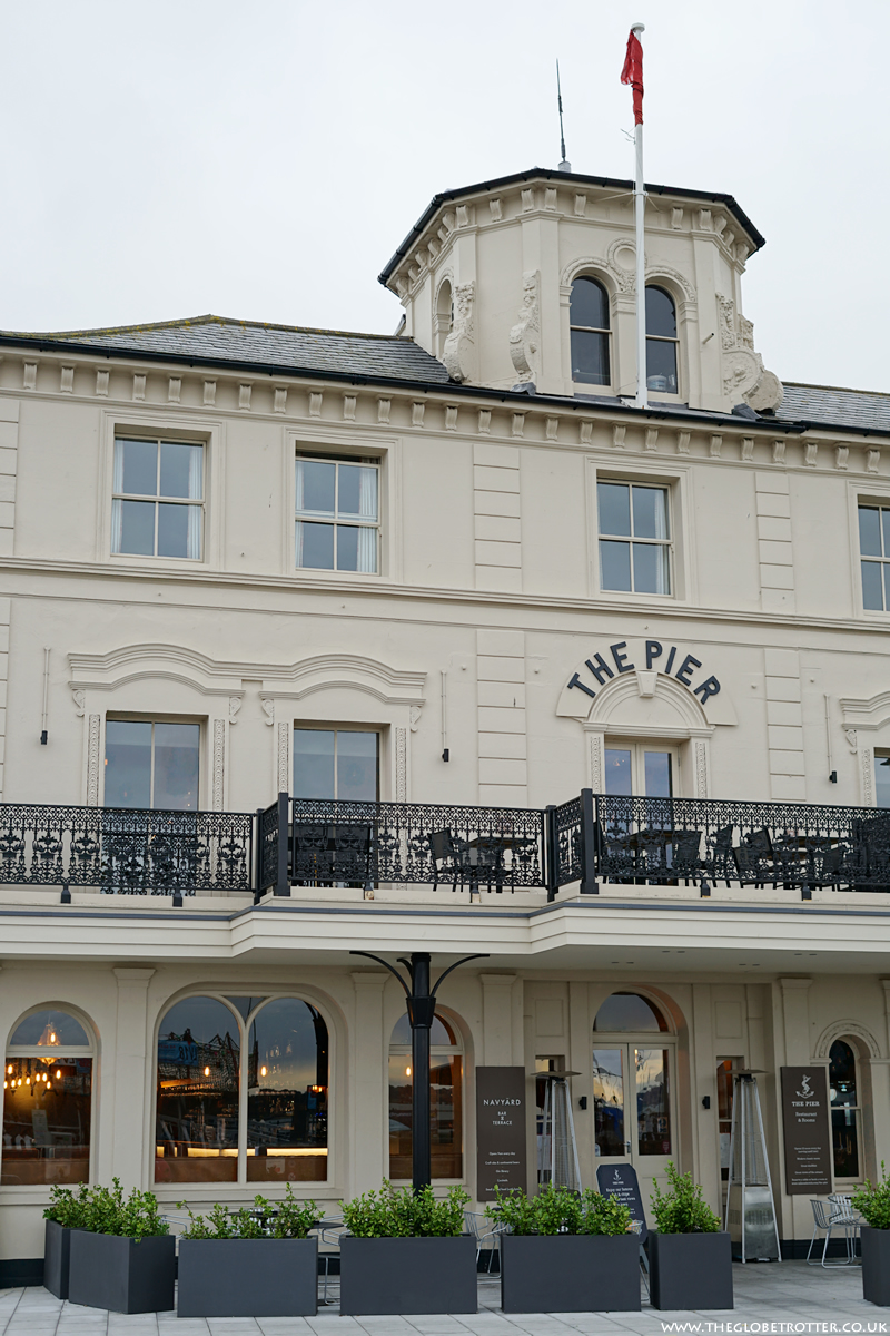 The Pier Hotel in Harwich