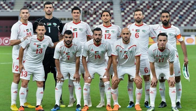 تعرف على موعد مباراة فلسطين أمام سنغافورة والقنوات الناقلة لها