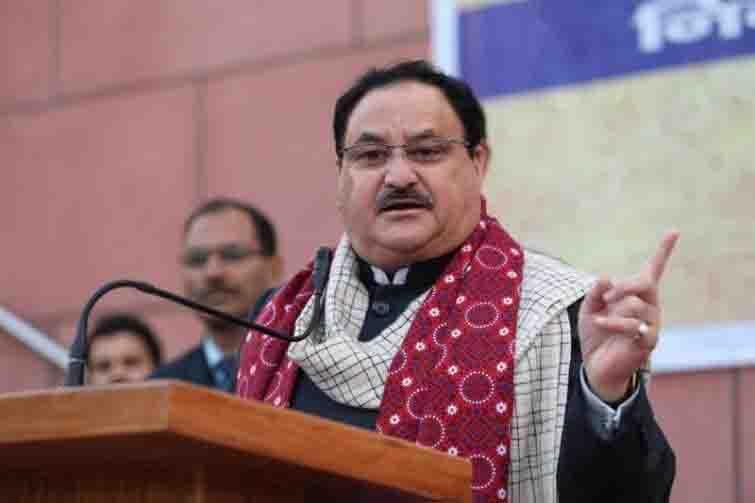 नीतीश के नेतृत्व में लड़ेंगे बिहार चुनाव: जेपी नड्डा