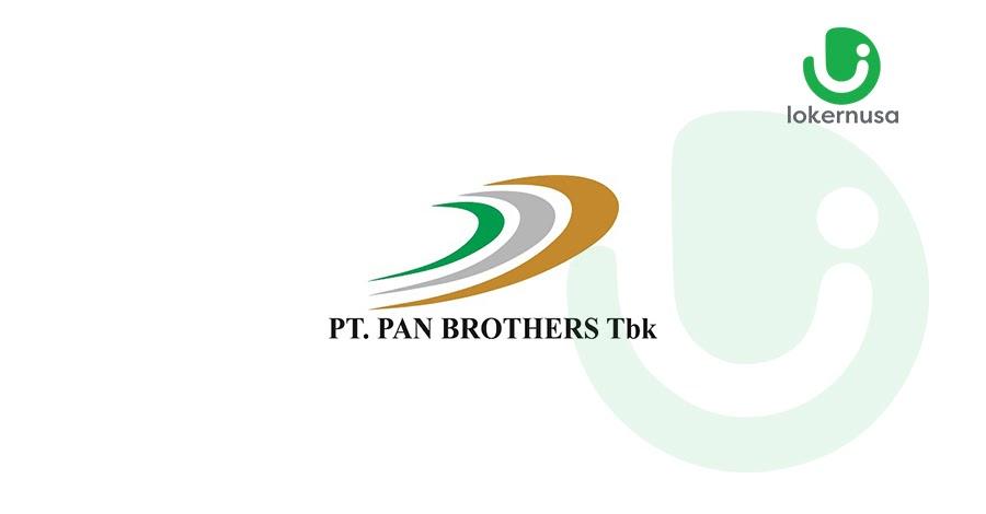 Lowongan kerja terbaru kali ini berasal dari PT Pan Brothers Tbk