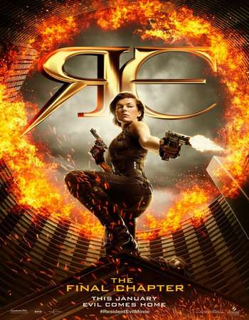 Resident Evil The Final Chapter 2016 Hindi Dual Audio 450MB Web-DL 720p ESubs HEVC Free Download Watch Online downloadhub.in