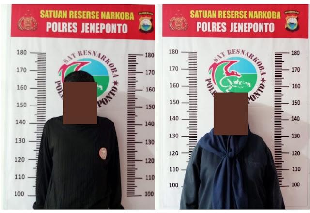 Diduga Nyabu, Oknum Polisi Jeneponto Digerebek Bareng Wanita