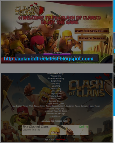Fhx server coc latest apk download | Top 5 Latest Clash of