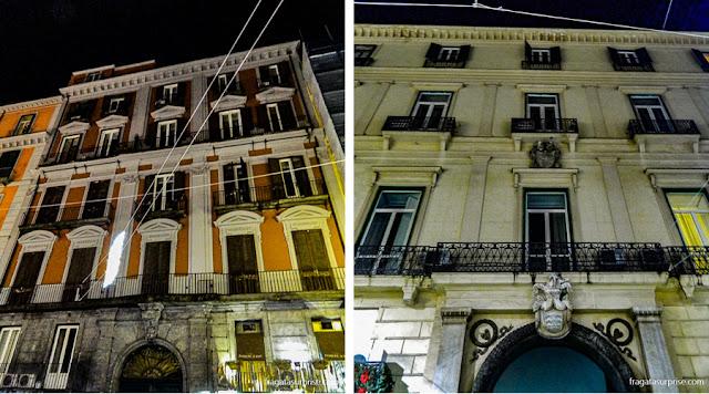 Casarões da Via Toledo, Nápoles