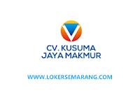 Lowongan Administrasi Umum Semarang di CV Kusuma Jaya Makmur