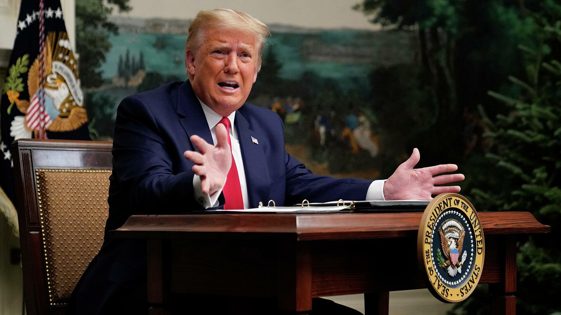 Donald Trump admite que se irá