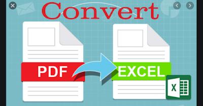 Cara Mudah Mengubah File PDF Ke Excel