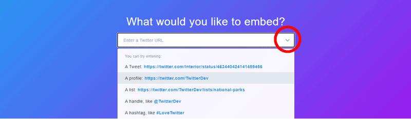 Cómo crear un widget de Twitter para tu página o blog
