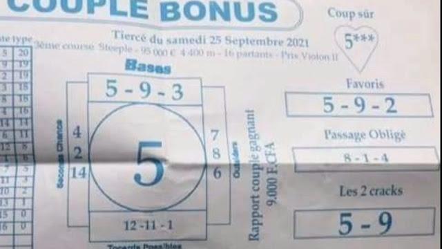Pronostics quinté dimanche Paris-Turf TV-100 % 26/09/2021