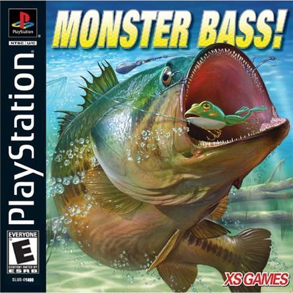 Monster Bass - PS1 - ISOs Download