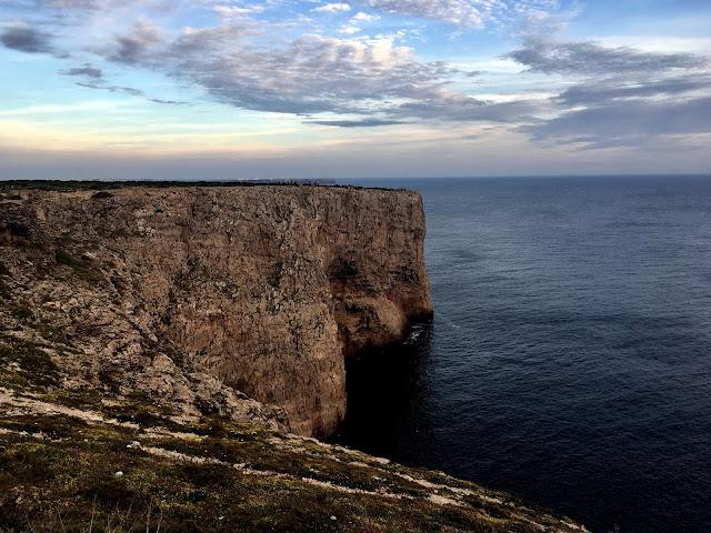 Atardecer en el Cabo San Vicente Algarve